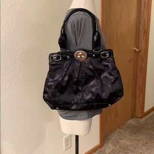 Women's Coach Purse Black